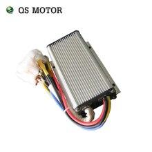 QSKBS72051X, 60A, 24-72 V, мини Бесщеточный контроллер постоянного тока для электродвигателя ступицы