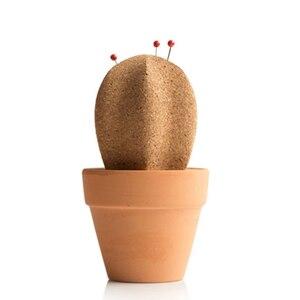 Корк кактус острый пробковый деревянный держатель сообщений Phellem пробковая деревянная доска объявлений толстый Настольный органайзер тол...
