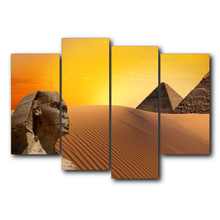 Egyptian Pyramids Top Selling Canvas Painting Vintage Wall Art Posters and Prints Home Living Room Bedroom Decoration Frameless top posters холст top posters 50х75х2см g 1044h
