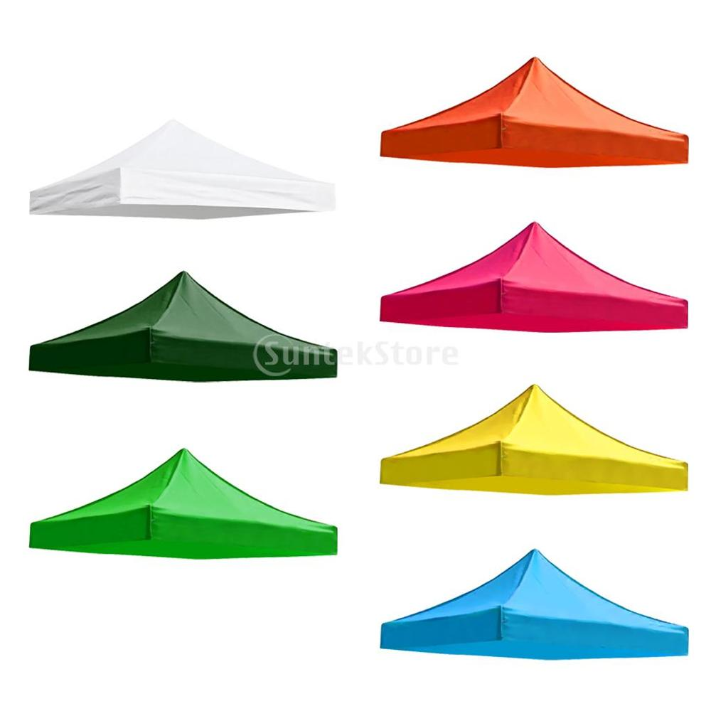 Top Cover Outdoor Gazebo Garden Marquee Tent Replacement Sun Shade Outdoors 2.9 X 2.9M Camping Accessories
