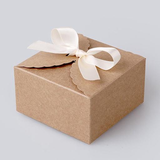 Us 19 8 Mini Square Cookie Boxes Brown Kraft Korean Small Chocolate Box Macaron Box Gift Packaging On Aliexpress Com Alibaba Group