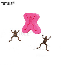 Gadgets - frog mold set for cake decorating or cupcake decorating, silicone resin polymer clay,frog mould