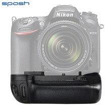 Профессиональный Ручка-Держатель Аккумуляторов для Nikon MB-D15 MBD15 D7100 как EN-EL15 DSLR Камеры