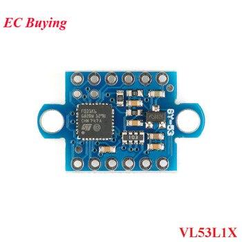 GY-53 VL53L1X Сенсор лазерный модуль ToF время полёта датчик диапазона GY 53 Serial Порты и разъёмы вывод pwm VL53L1X + stm32