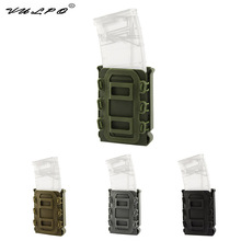 VULPO 5.56mm & 7.62mm Magazine Pouch Molle Belt Fast Attach Carrier Holster Military Tactical 5.56 7.62 Mag