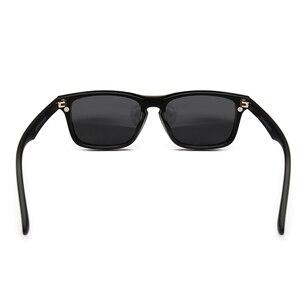 Image 5 - Мужские солнцезащитные очки TR90, Поляризованные, с клипсой, по рецепту, магнитные, для вождения ночью