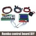 BIQU Румба совета управления DIY + LCD 12864 контроллер дисплея + перемычка + A4988 Румба Материнская Плата комплекты для Reprap 3D принтер