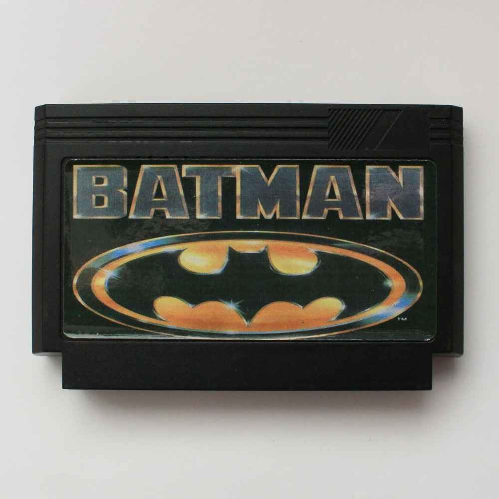 Batman 60 Pin Game Card For 8 Bit Subor Game Player image