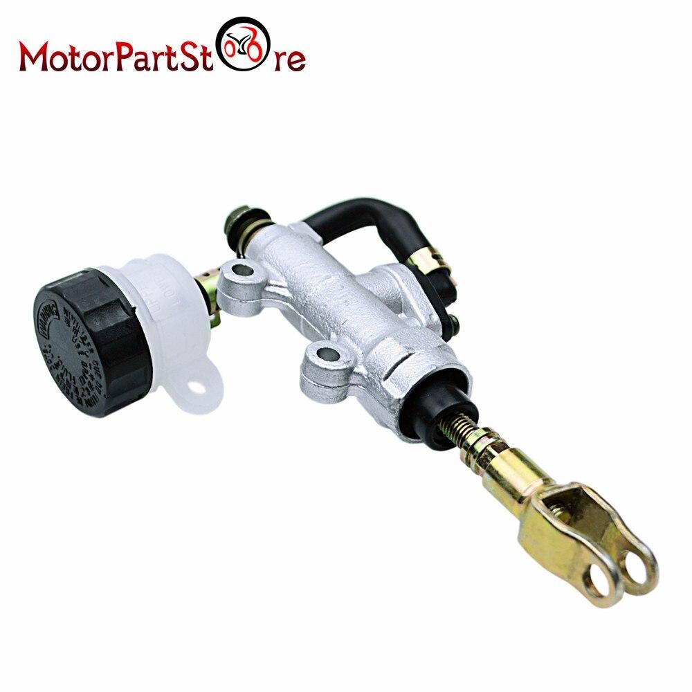1 Pc Motorfiets Voetrem Hydraulische Pomp Voor Suzuki Voor Honda Achter Hoofdremcilinder Pomp D10