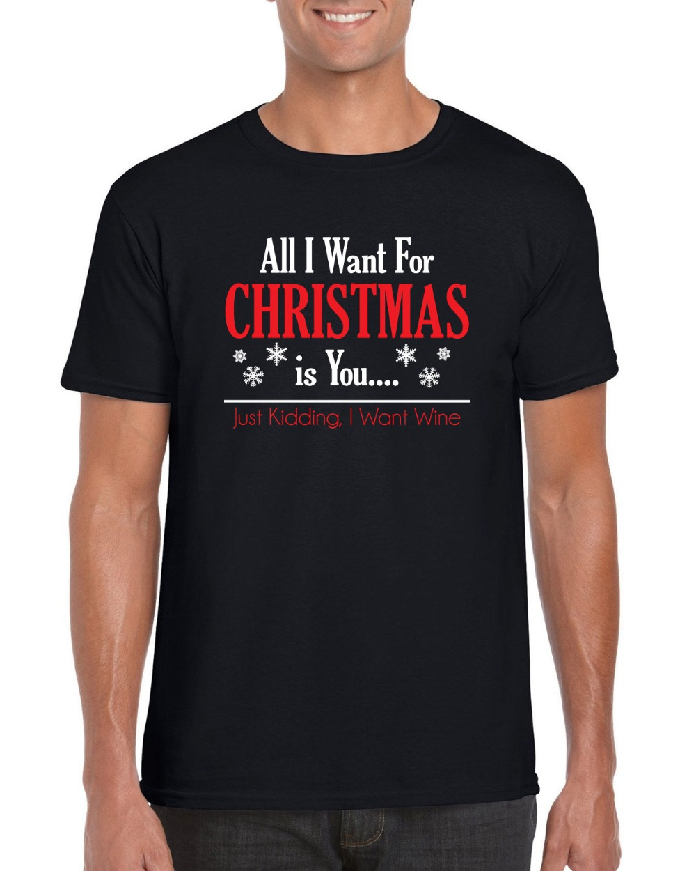 T shirt design quad cities - 8 Shirts Screen Printing T Shirts O Neck All Want For Christmas Is You