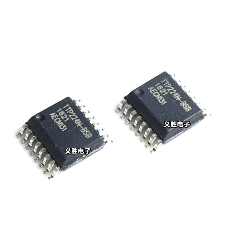 10pcs/lot TTP224N-BSB TTP224-BSB TTP224N TTP224 SSOP-16 In Stock