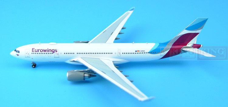 Spike: Wings XX4912 JC Europe wing aviation D-AXGA 1:400 A330-200 commercial jetliners plane model hobby phoenix 11006 asian aviation hs xta a330 300 thailand 1 400 commercial jetliners plane model hobby