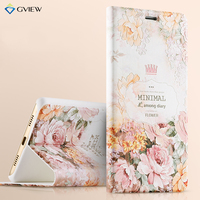3D Relief Pattern PU Leather Intelligent Sleep Flip Cover Case For Huawei Honor 6X Stand Function