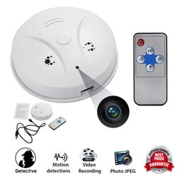 Smoke Detector HD Cam Remote Independent  Built-in Alarm Buzzer Security Motion Detection  Camera Nanny DVR dropshipping