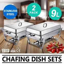 Edelstahl Isolierte Chafing Dish Lebensmittel Wärmer & Buffet Server Schüsseln