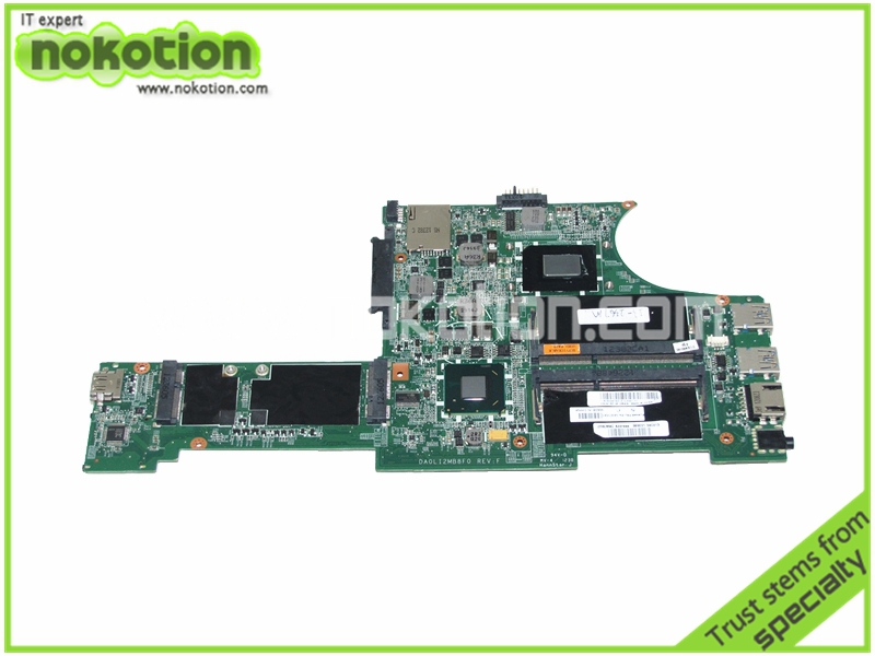NOKOTION Laptop Motherboard for Lenovo ThinkPad X131e FRU 04W3645 DA0LI2MB8F0 REV F I3-2367M HM77 GMA cpu Onboard HD4000 DDR3 h000079530 main board for toshiba ca10an ab laptop motherboard ca10an ab uma mb rev 2 1 ddr3 with cpu onboard