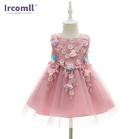 Ircomll Brand Newest Little Princess Baby Girl Dress Lanvender A Line Ball Gown First Birthday Gift Wedding Party Clothes