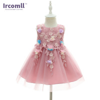 Ircomll Brand Newest Little Princess Baby Girl Dress Lanvender A Line Ball Gown First Birthday Gift