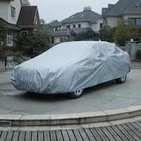 L Size Car UV Protector Cover Shields Windshield Sun Shades 480*175*120cm For All Weather Car Front Window Cover Snow Cover