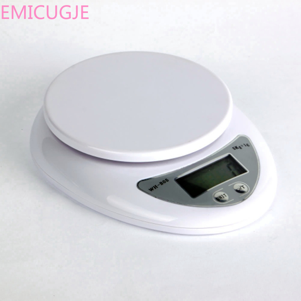 Food Diet Postal Kitchen Digital Scale Scales Balance Weight Weighting LED Electronic Kitchen Gadget 5000g/1g 5kg Kitchen Scales