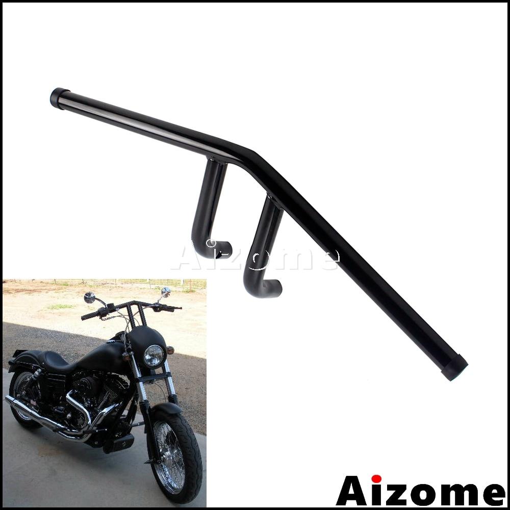Black Motorcycle 7//8/'/' 22mm Handlebar Bar Frame Replacement for Cafe Racer