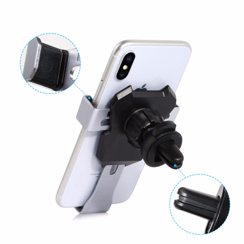 Gravity Car Phone Holder Air Vent Mount Clip Mobile Stand