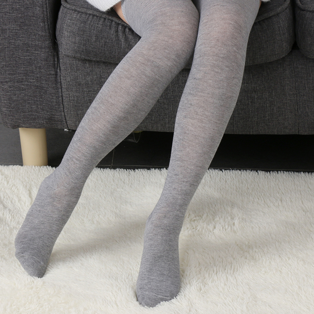 Hot Sale Women Long Sexy Stockings Winter Warm Thigh High Over the Knee Stockings Soft Cotton Stockings Girls Fashion Stockings