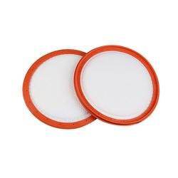 Высокоэффективных 1 шт. белый фильтр хлопок для фильтрации пыли Оригинал пылесос части hepa фильтр C3