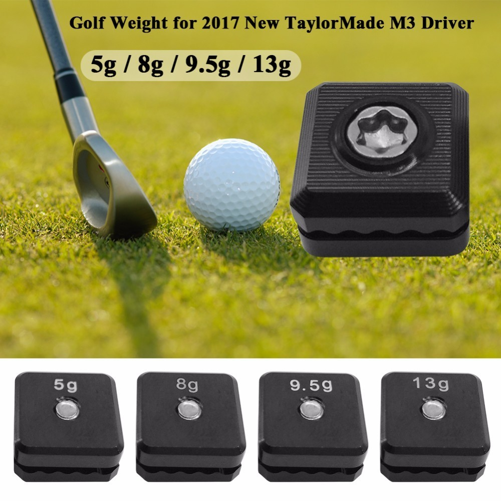 1 Piece Golf Weight Screw For 2017 TaylorMade M3 Driver 5g 8g 9.5g 13g Club Accessories