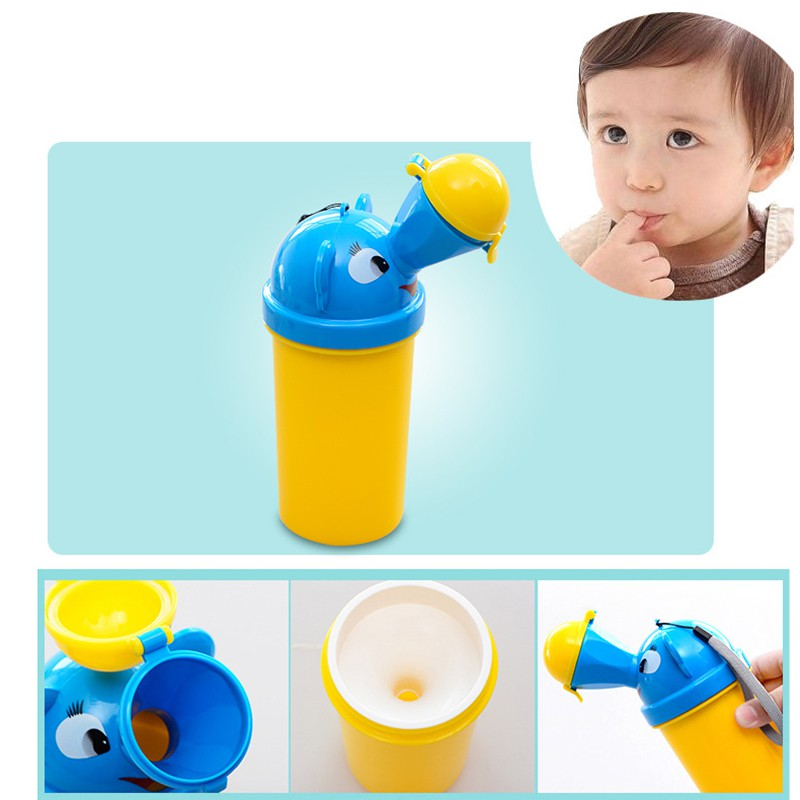 Portable Baby Urinal Boys Girls Leak-proof Child Urinals Travel Toilet Cartoon Chamber Pots Kids Boys Girs Potties Accesserie