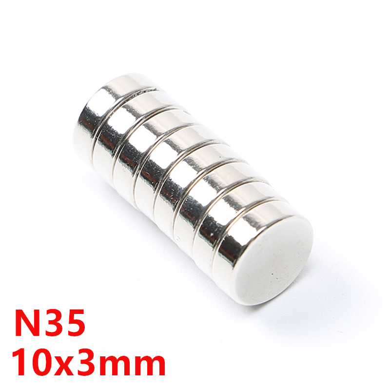 2pcs Strong Neodymium 30mm x 3mm With 5mm Hole NdFeb 30x3 Ring Disc Hole Magnets