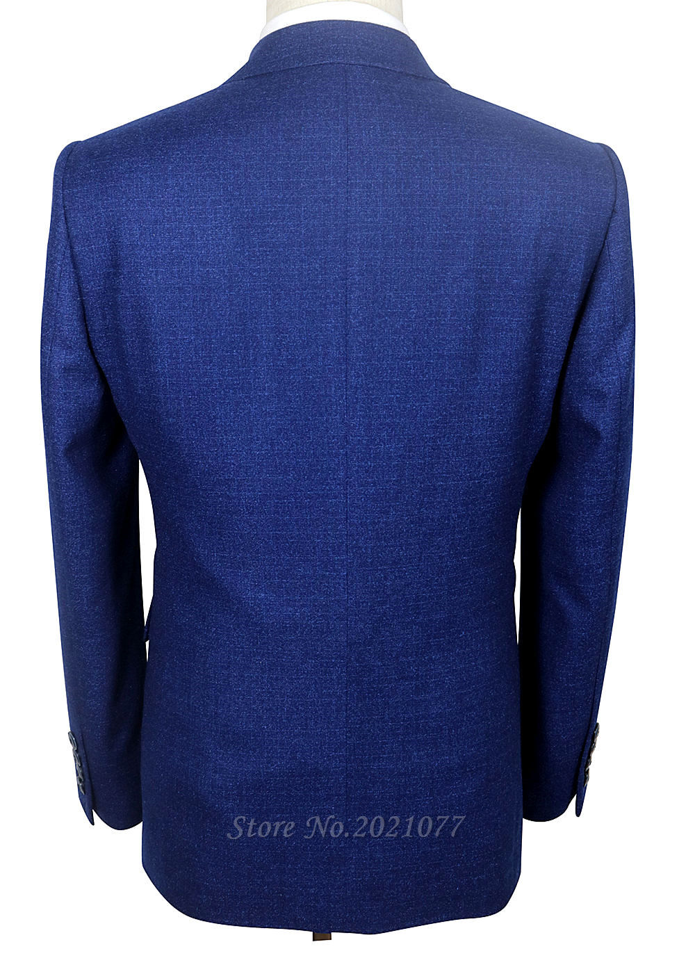 Tailored Royal Navy Blue Groom Mens Wedding Suits For Men Suit ...