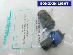 Image 1 - 10 個xiasongxinライトノイトリック新型NL4FXスピコン 4 極プラグ雄オーディオスピーカーコネクタ