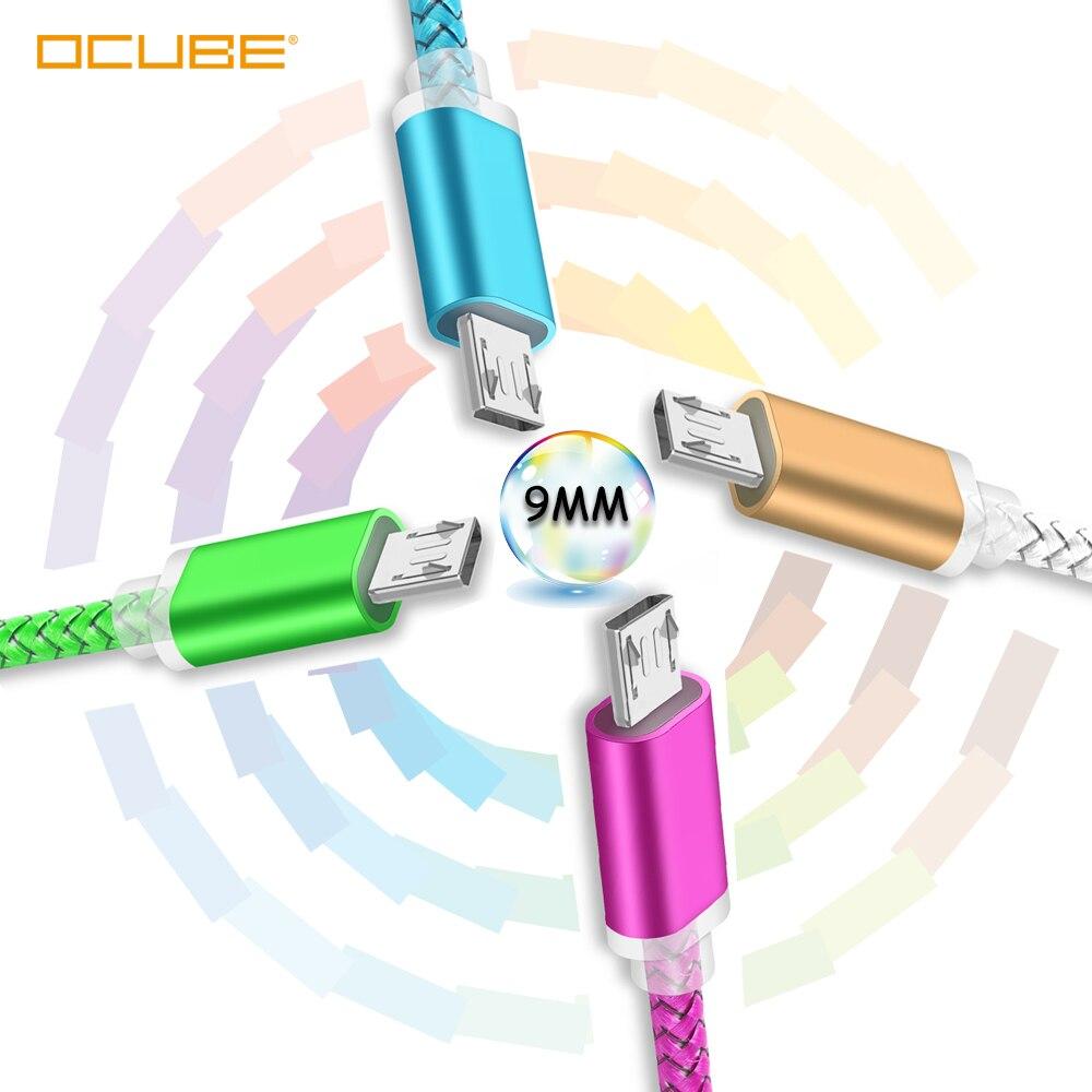 Câble de chargement Micro Usb 9mm Extra Long pour Blackview Bv6000 A60 A20 A30 Oukitel K10000 C15 C13 C12 Pro câble de chargeur Micro Usb
