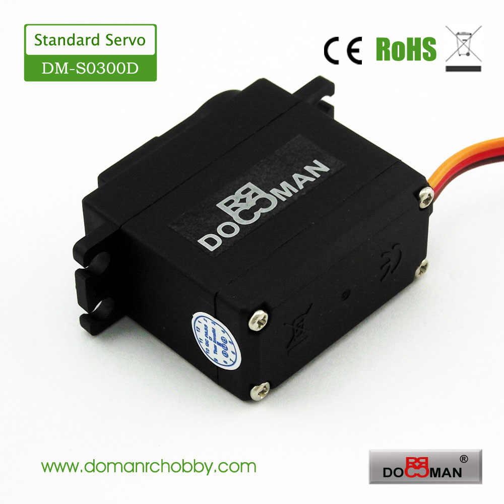 1ピース/ロットドーマンrc DM-S0300D 38グラム/0.13 s/3kg. cm pomギア3キログラムデジタルサーボ