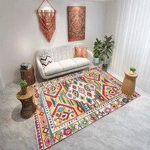 Alfombra de sala de estar marroquí alfombra de dormitorio en casa alfombra grande sofá mesa de café alfombra de suelo de sala de estudio Bohemia alfombra de suelo para niños alfombras