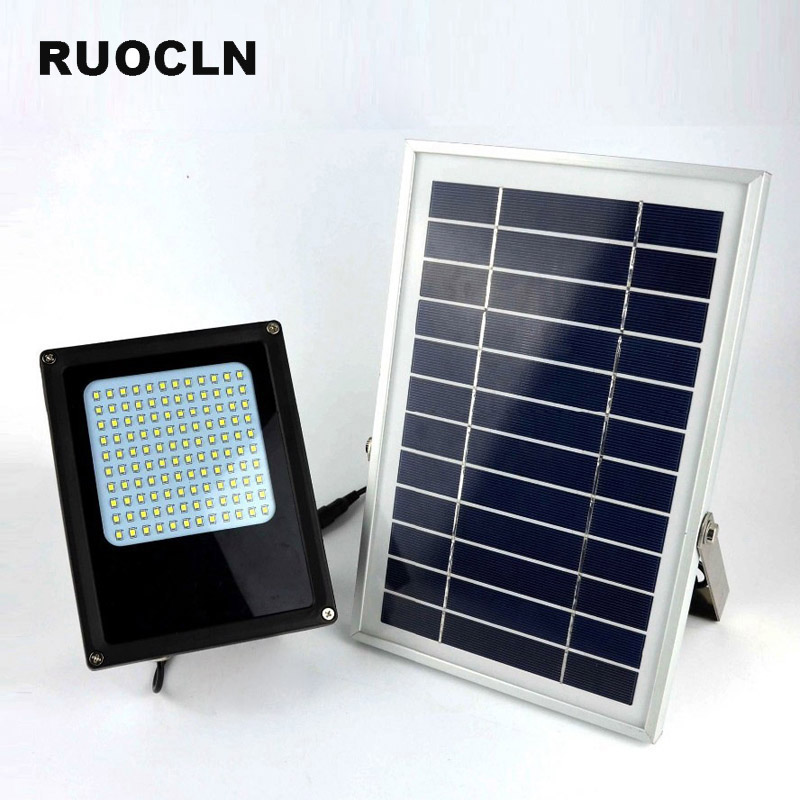120 LED Solar Power Panel Floodlight IP65 3528 SMD Flood Light Motion Sensor Garden Yard Street Path Landscape Led Outdoor Light 90w led driver dc40v 2 7a high power led driver for flood light street light ip65 constant current drive power supply