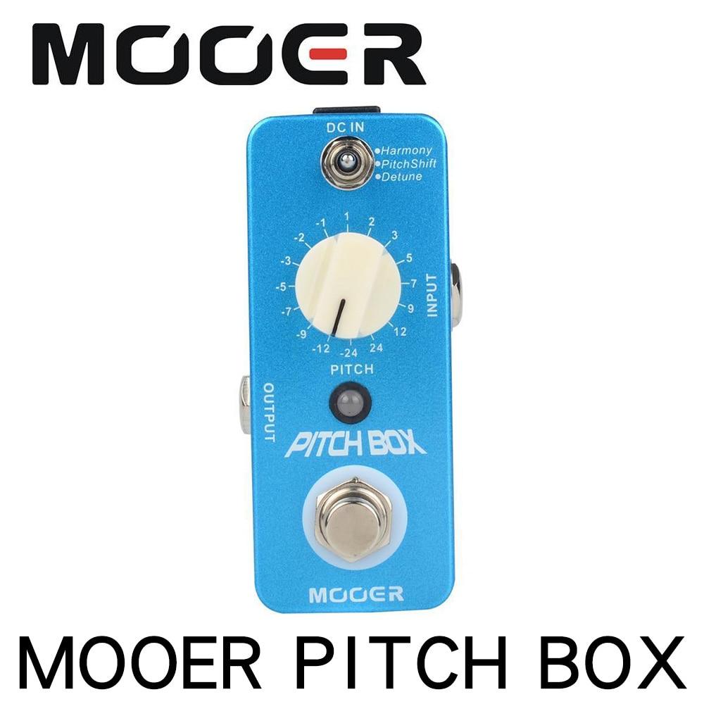 PITCH SHIFTER MOOER AUDIO PITCH BOX ELECTRIC GUITAR  HARMONIZER DETUNE PEDAL