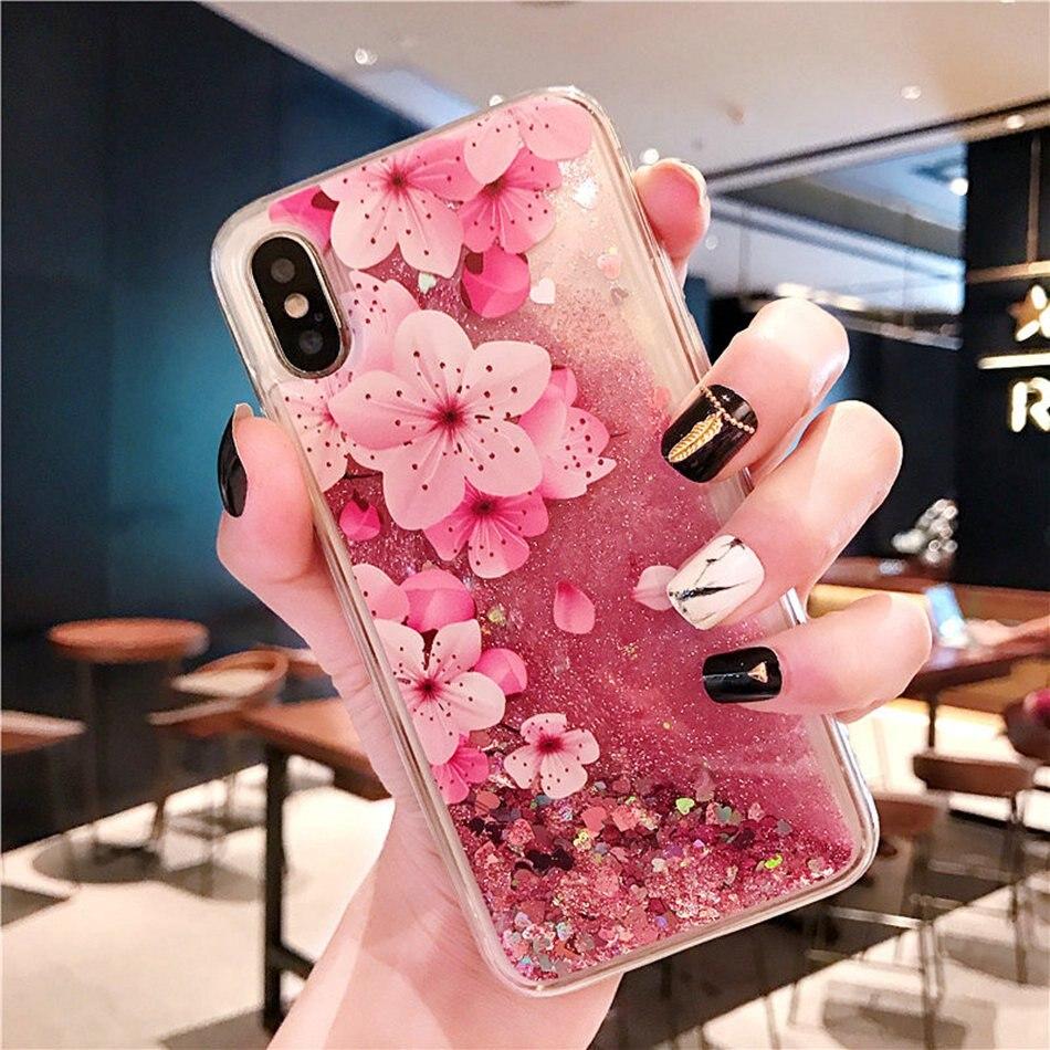 Luxury Glitter Liquid Case For Samsung Galaxy J2 Prime Case J2 Pink Case For Samsung J4 J6 Plus 2018 J3 J5 J7 2017 Eu J530 Cover Phone Bags & Cases