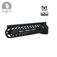 Tactical AR 15 M LOK Keymod 9 12 inch Slim Free Float Handguard Picatinny Rail Mount Bracket 556 for Airsoft