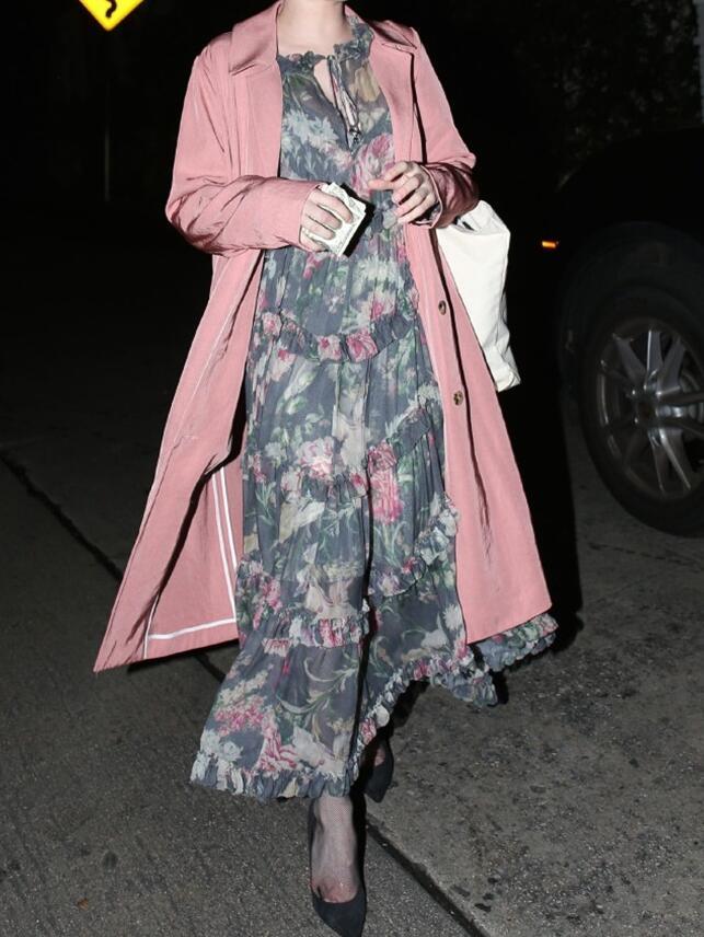 Robe Ruches À Ourlet Volants 100 Floral Midi Asymétrique Lavée 2018 Wishbop Femmes Rayonner Soie Piste Multicolore Imprimé xUHvBaq