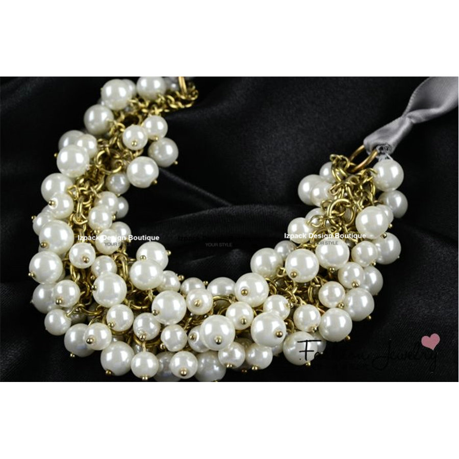 pearls at satin pearl beige necklace lanvin white and best ribbon with