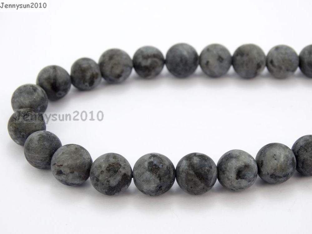 "Natural Larvikite Labradorite Gemstone Faceted Round Beads 4mm 6mm 8mm 10mm 15/"""