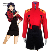 Top Selling Free Shipping Neon Genesis Evangelion Katsuragi Misato Cosplay Costume Anime Costume For Halloween Christmas