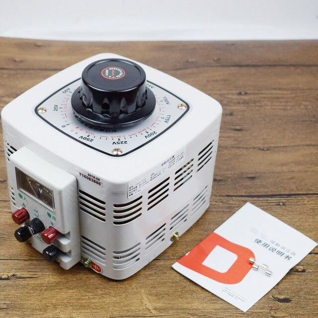 Voltage regulator household tdgc2 single phase variac 1000w 0 250v ...