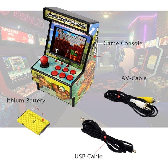 Data Frog Retro Mini Arcade Handheld Game Console Built-in 156 Classic Games 5