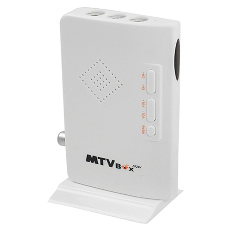 5 unids/lote HDTV TV box HD LCD VGA/AV externa set top TV caja/sintonizador de TV analógico CRT monitores digital ordenador promociones el receptor