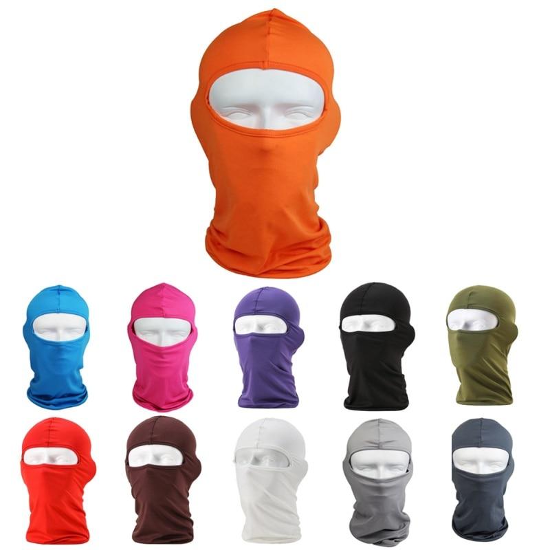 ②Venta caliente Ciclismo Máscaras protección UV motocicleta Cara ...