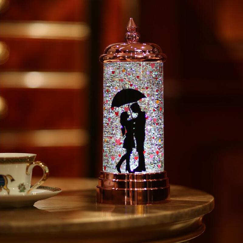 Gifts For Wedding Night: Romantic HIPS Battery Powered LED Night Light For