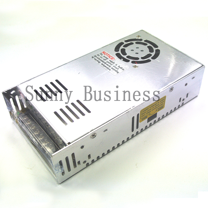 MS-350-15 ac dc single output 23.2A 350w 15vdc switching power supply smps mini size with CE certification